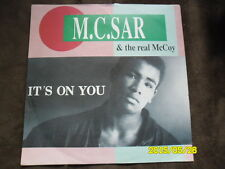 Zyx 7 inch Single IT´S ON YOU von M.C.SAR & THE REAL McCOY  (1990)