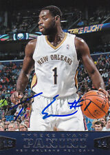 TYREKE EVANS NEW ORLEANS PELICANS SIGNED PANINI BASKETBALL CARD SACRAMENTO KINGS