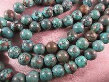 Turquoise Round 9mm Beads 45pcs