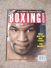 APRIL 1992 BOXING ILLUSTRATED  MAGAZINE MIKE TYSON COVER