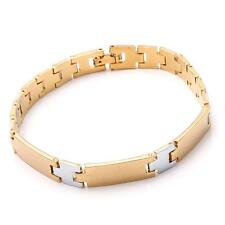 10KT Yellow Gold Filled Men's Bracelet Chain 19.7g B73