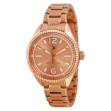 Tommy Hilfiger Rose Dial Rose Gold-tone Ladies Watch 1781521
