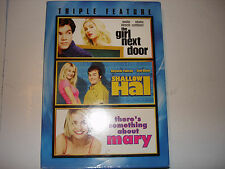 The GIrl Next Door/Shallow Hal/There's Something About Mary (DVD, 3 DISC)