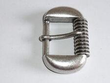 Gürtelschnalle Schließe Schnalle Rollschnalle 3 cm altsilber NEU rostfrei#671.2#