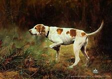 "Charles Frace "" On Point ""Artist Proof  #36 0f Only 200) W/Cert 1996 Hunting Dog"
