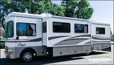 2000 FLEETWOOD FLAIR 33' TWO SLIDE RV MOTORHOME - SLEEPS 6 - LOW MILES - NICE