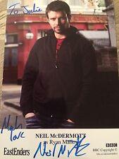 6x4 Hand Signed Photo of Eastenders Ryan Malloy - Neil McDermott
