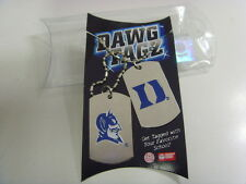 Duke Blue Devils sports dawg tagz necklace key chain set collegiate ncaa 49425