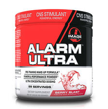 Image Sports Alarm Ultra Berry Blast -Concentrated Pre-Workout (Best by 09/2016)
