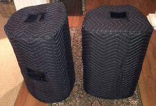 TURBOSOUND iQ12 iX12 Premium Custom Padded Speaker COVERS (2) - Qty of 1=1 Pair!