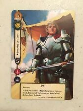 Brienne Of Tarth Alt Art PrizCard From Game Of Thrones The Card Game 2nd Series
