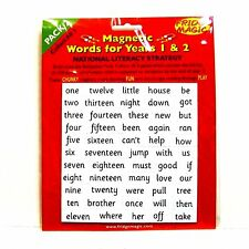 Magnetic High Frequency Words Pack 2 for Years 1 & 2 NEW