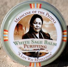 Navajo Medicine Of The People White Sage Dry Lips Lip Balm - Minor Skin Ailments