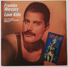 "Freddie Mercury Love Kills Single 7"" Inglaterra 1984 BSO Metropolis Queen"