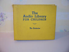RARE The Audible Library For Children The Orchestra Golden Records Mitch Miller