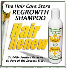 NATURAL HAIR RENEW SHAMPOO stop alopecia regrowth womens thin loss menopausal