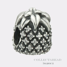 Authentic Pandora Sterling Silver Pineapple CZ Bead 791293CZ *SPECIAL*