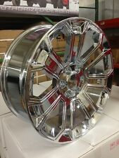 4 NEW 2015 GMC Wheels 20x8.5 Chrome OE Yukon Sierra Silverado Denali  Tahoe