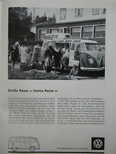 3/1963 PUB VOLKSWAGEN VW AUTO VOITURE CAR KOMBI COMBI TRANSPORTER GERMAN AD