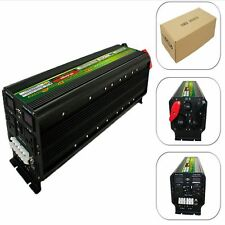 24v To 220v LED display 5000W 10000W(peak) Power Inverter+Charger&UPS For Solar