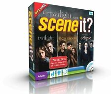 Scene It? Deluxe - The Twilight Saga - Includes Collectible Tokens - New Sealed
