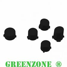 Greenzone ® Xbox One 1 Controller Black Buttons ABXY & Guide Mod Kit