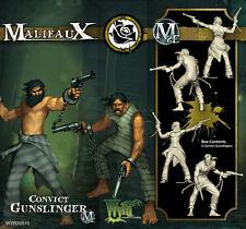 Malifaux Convict Gunslinger Outcast box plastic Wyrd miniatures 32 mm new