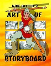 Don Bluth's Art Of Storyboard, Don Bluth, Gary Goldman, Acceptable Book