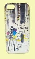 """iZAK Bloomingdales """"I'M IN A NEW YORK MOOD"""" Hard-shell iPhone 5 Case Msrp $30.00"""