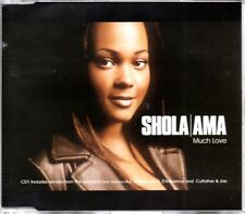 SHOLA AMA - MUCH LOVE - 6 TRACK REMIX CD SINGLE - MINT