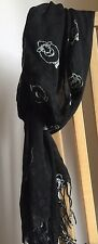 Black & White Sheep Scarf Fun Gift Summer Ladies Wrap Fast Dispatch Free Postage