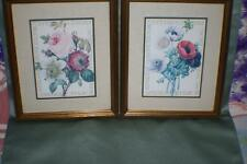 Set of 2 flower Pictures Lot 61