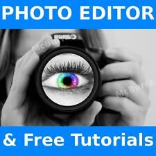 2016 Professional Photo Image Editing Software GIMP & Adobe Photoshop CS6 Guide