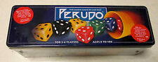 NEW / SEALED ~ PERUDO ~ THE CLASSIC GAME OF LIAR DICE ~ IN A TIN