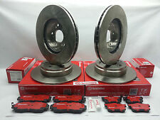 Acura 02-06 RSX Type-S BREMBO Front & Rear Brake Rotors & Brake Pads Set