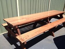Timber Outdoor Setting Picnic Table Brand New 3.0 Metres Free Kids Table
