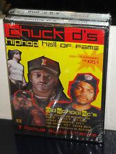 Chuck D's Hip Hop Hall of Fame (DVD) KRS-1, Rakim, Afrika Bambaataa, BRAND NEW!