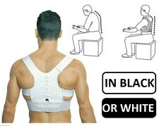 MAGNETIC Posture Correction Support BACK Belt Brace Pain Relief  S M L XL XXL