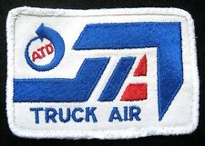 """TRUCK AIR EMBROIDERED SEW ON ONLY PATCH TRUCK ATD FREIGHT 3 1/4"""" x 2 1/2"""""""