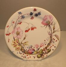 NEW Dessert / Salad Plate Floral Bouquet  From GIEN