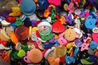 70 bulk mixed lot of buttons at least 70 buttons fun colours sizes shapes