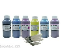 6x250ml pigment refill ink for Epson 79 Stylus Photo 1400 Artisan 1430