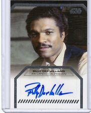 2013 Star Wars Galactic Files series 2 Billy Dee Williams auto. card
