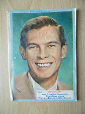 A & BC Chewing Gum Movie Stars Cards- JOHNNIE RAY-There's no Business Like...N.7