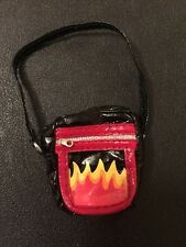 Bratz Doll Accessories Jade's Hippie Chic Style It Black & Red Flame Bag