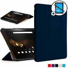 Blue Folding Smart Case Cover Acer Iconia Tab 10 A3-A40 Screen Prot Stylus