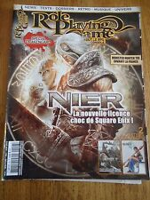 REVUE MAGAZINE ** ROLE PLAYING GAME n°26 ** JEUX VIDEOS RPG NIER DRAKENGARD