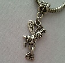 Bumblebee Bee Honey Bug Insect Dangle Bead Fit Most European Charm Bracelet