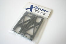 X-Factory 3012 Graphite Rear Suspension Arms  / Wishbones - X6 Squared & Cubed