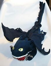 """3""""' Toothless Dreamworks Plush How To Train Your Dragon Posable Wings Stuffed"""